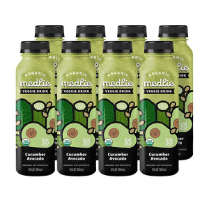 Medlie Cucumber Avocado Veggie Drinks: 8 Pack