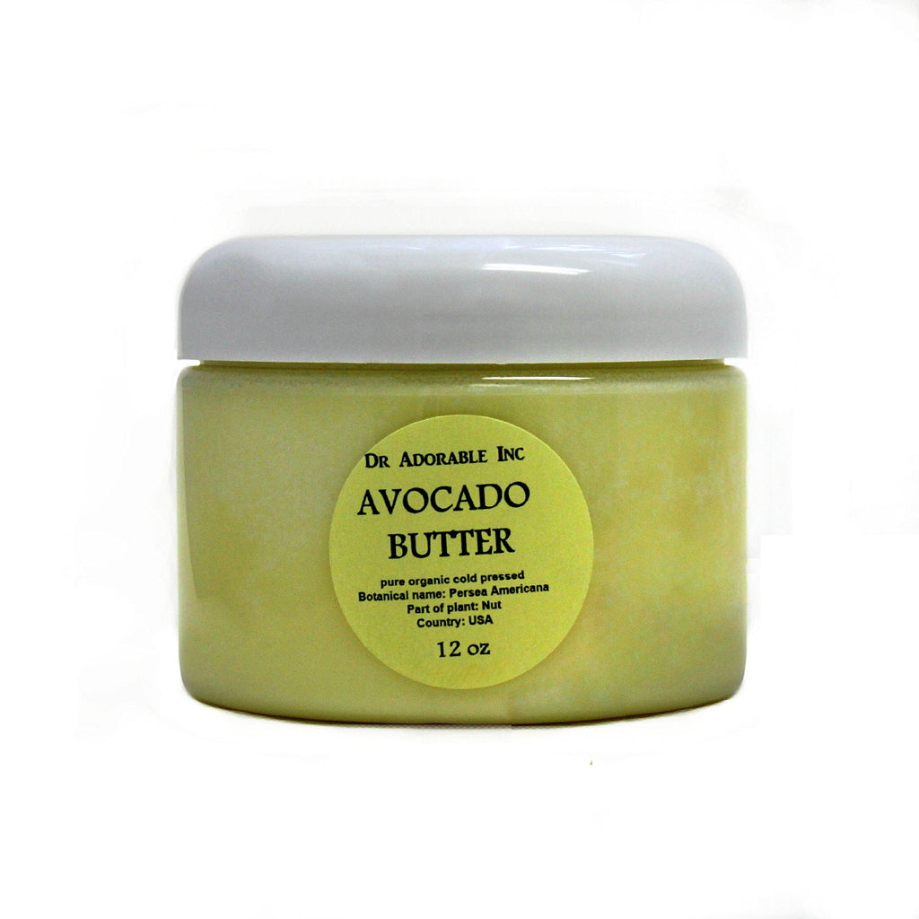 Dr Adorable Avocado Pure Organic Raw Butter: 12 oz
