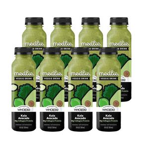 Medlie Kale Avocado with Collagen Protein Drinks: 8 pack