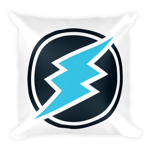 Soft Electroneum Square Pillow