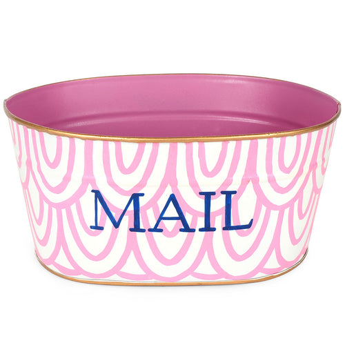 Scales Pink Mail Tub