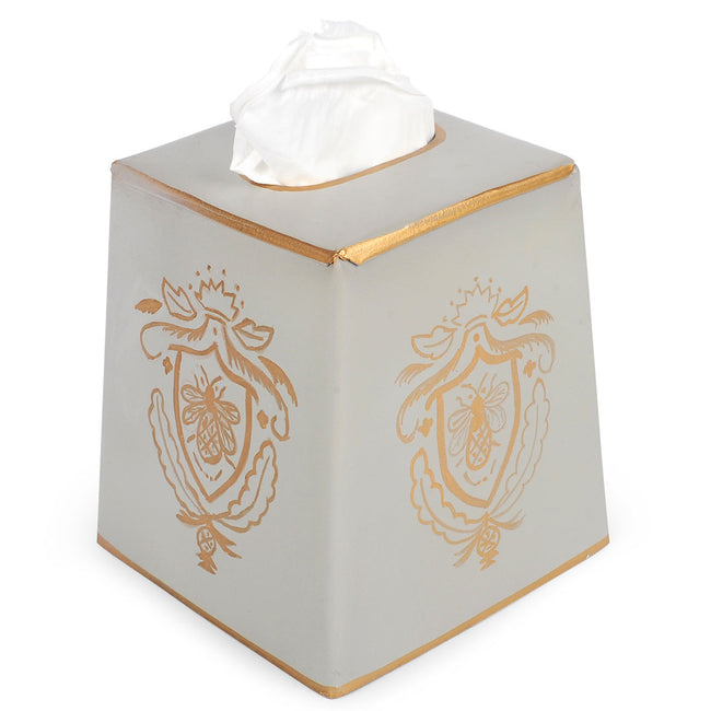 Heritage Bee Tissue Box Cover