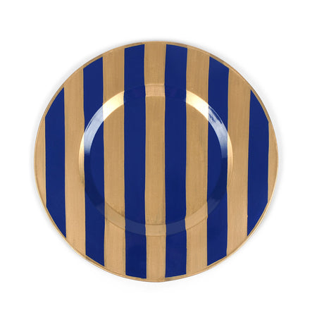 Brushed Stripe Navy Caddy