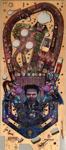 Signed Houdini Playfield