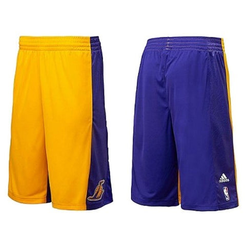 ADIDAS MENS NBA LA LAKERS SUMMER  SHORTS