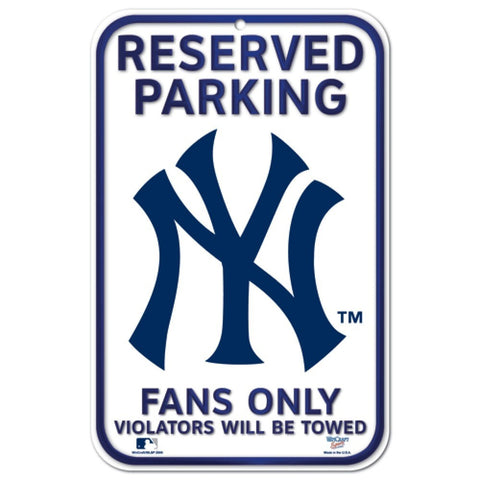 Wincraft Plastic Sign New York Yankees
