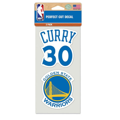 Wincraft Perfect Cut Decal Stephen Curry