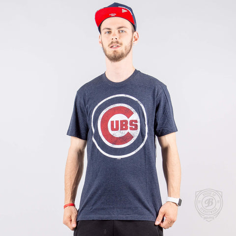 47Brand Mlb Tee Chicago Cubs Navy