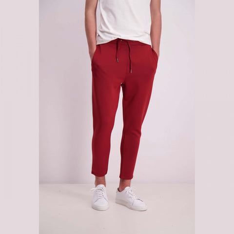 Shine Original Track Pants Burgundy
