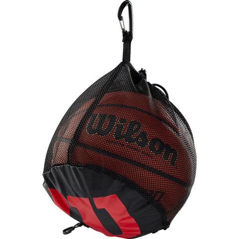Wilson Single Ball Bskt Bag