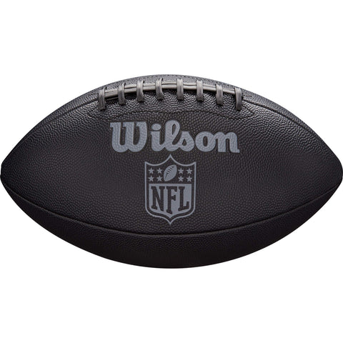 Wilson Nfl Jet Black Official Size Fb Official Size