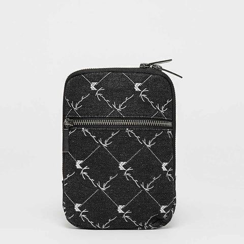 Karl Kani Cross Bag Black/White