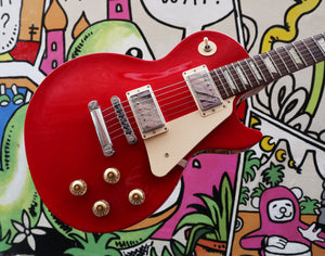 2012 Gibson Les Paul Studio T - Radiant Red