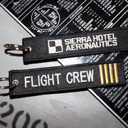 Flight Crew Keychain, Pilot Keychain, Luggage Tag, Airport Tag, Aviation Collectables, Pilot Supply, Crew Supply, Aviation Decals, Airline Pilot Supply