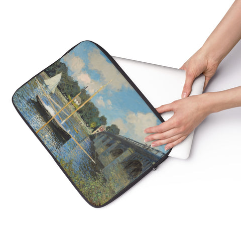 Laptop Sleeve With Claude Monet Artwork - justafive.com