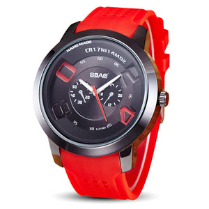 Colorful Students Wrist Watch Men Male Clock  Minimalist Connotation Gift - justafive.com