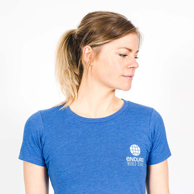 Latitude T Shirt - Womens Vintage Royal