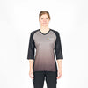 Stage Riding Jersey - Womens Grey Fade