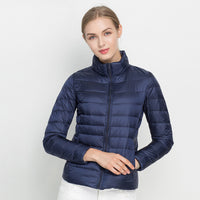 Women Portable Windproof Down Jackets/Coat