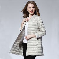 Women Spring Padded Warm Down Coat