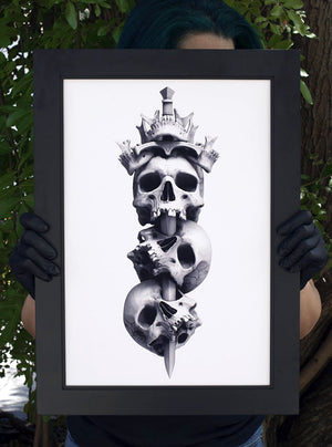 """King's Crown"" Limited Art Print"