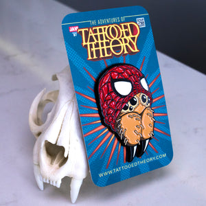 """MAN-SPIDER"" Pin"
