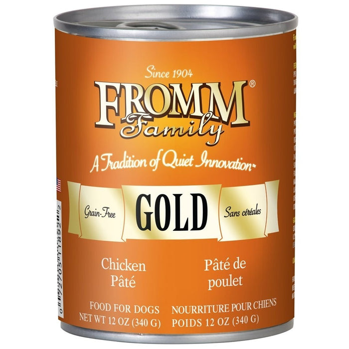 Fromm Gold Chicken Pate 12 oz