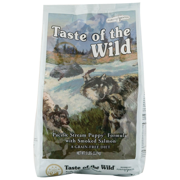 Taste of the Wild Pacific Stream Salmon Puppy  Food 5 lbs