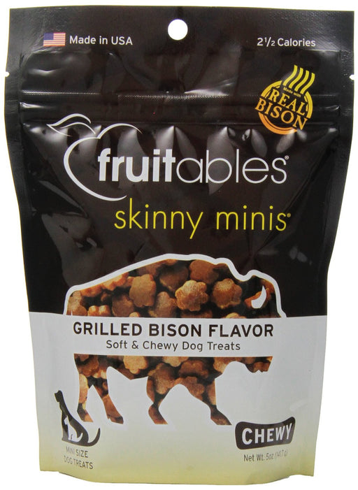 Fruitables Treat Mini Grill Bison 5oz