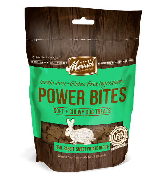 Merrick Power Bite Rabbit & Sweet Potato 6 oz
