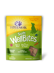 Wellness Wellbite Grain Free Lamb/Salmon 6oz
