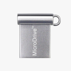 miniature USB 2.0 flash drive silver