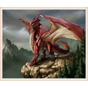DiamondXpres Dragon Diamond Painting Kit