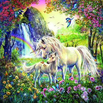 DiamondXpres Unicorn Diamond Painting