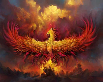 Phoenix Diamond Painting