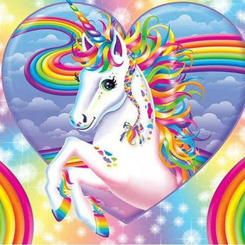 Rainbow Unicorn Diamond Painting