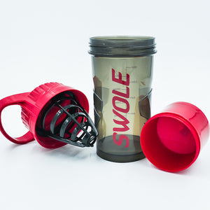 Swole Stacker Shaker Red