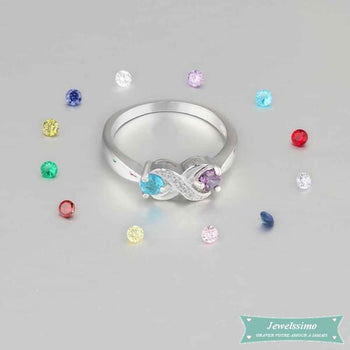 Bague Infini I Love You En Argent