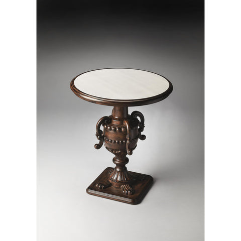 Butler Heritage Basel Foyer Table In Mirrored
