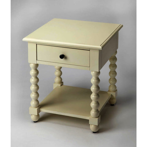 Butler Masterpiece Alec White End Table