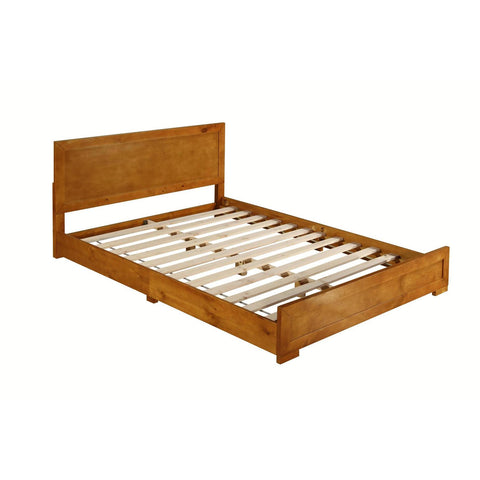 Camden Isle Oxford Oak Bed