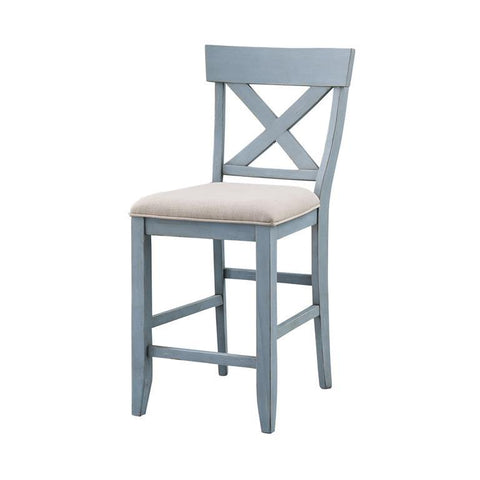Coast To Coast 40300 Set of 2 Bar Harbor Counter Height Dining Chairs