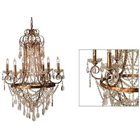 Dovetail Lille Chandelier