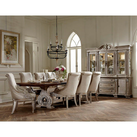 Homelegance Orleans II 7Pc Dining Set In White Wash
