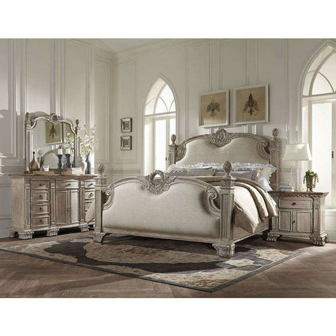 Homelegance Orleans II Bed In White Wash
