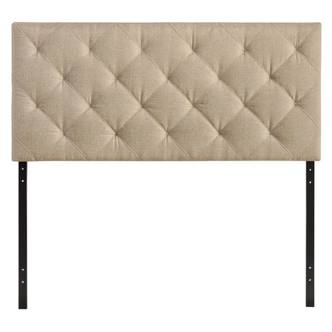 Modway Theodore Queen Headboard in Beige