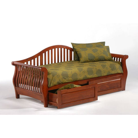 Night and Day Nightfall Twin Daybed in Cherry