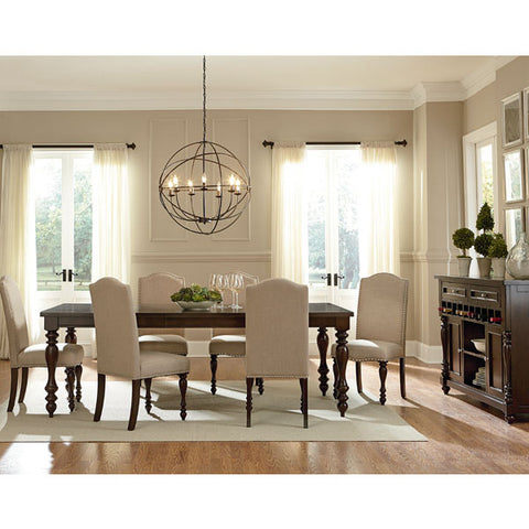 Standard Mcgregor Eight Piece Dining Set