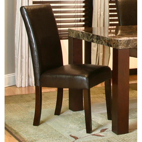 Sunset Trading Carlyn Parson Dining Chair in Espresso