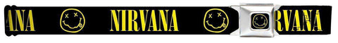 "Belt - Nirvana Smile Seatbelt Belt (24-38"")"